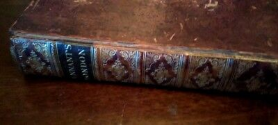 """1790 """"PENNANT's LONDON"""" ANTIQUARIAN BOOK on Culture & History by Thomas Pennant"""