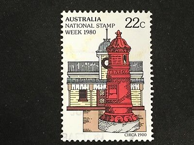 1980 Australia National Stamp Week 22C Post Box - Fine Used