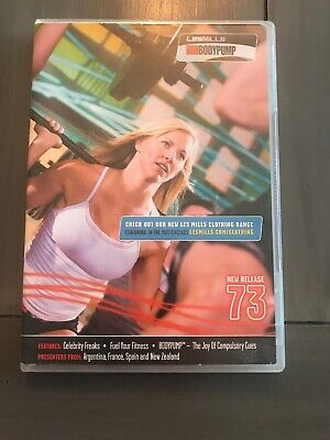Les Mills Body Pump 73 DVD/CD/Choreography Notes BodyPump