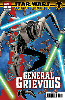Star Wars Age of Republic General Grievous #1 Marvel 2019 McKone Variant Cover