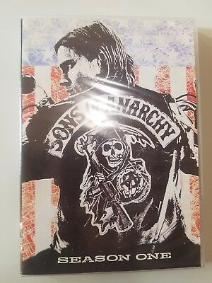Sons of Anarchy Complete First Season 1 One DVD 2009 4-Disc Set Region 1