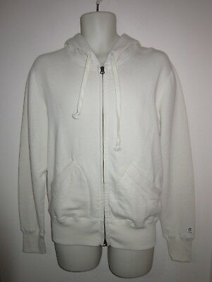 2720b354ac64 CHAMPION + TODD SNYDER Hoodie Full Zip Navy Cotton Made in Canada Sz ...