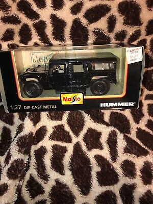 Maisto Hummer SUV Special Edition 1:27 Scale Die Cast Model Black