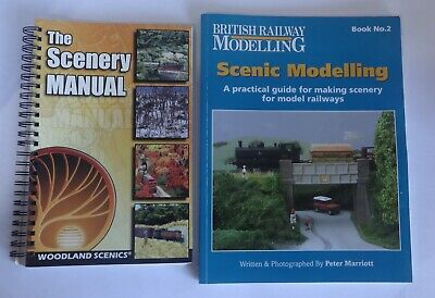 BRM 'Scenic Modelling  Book No 2' & Woodland Scenics 'The Scenary  Manual' books
