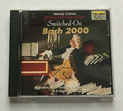 Wendy Carlos - Switched-On Bach (All-New 25th Anniversary) (Telarc CD-80323)