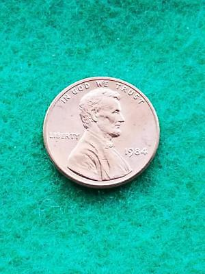1984 Uncirculated Lincoln Memorial Cent Penny BU