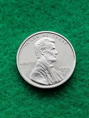 1993-S  Uncirculated PROOF Lincoln cent/penny **Free ship**
