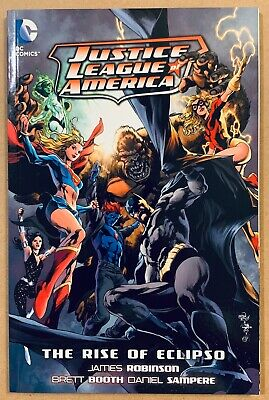 Justice League of America Rise of Eclipso GORGEOUS NM TPB Very Rare