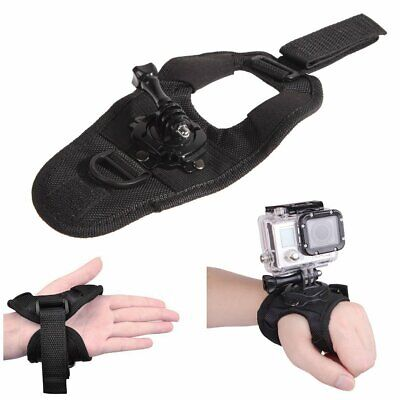 360° Rotation Wrist Hand Strap Band Holder Mount for GoPro Hero 2 3 3+ 4 Camera