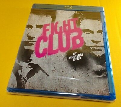 Fight Club (Blu-ray Disc)Brand NEW(Sealed)Brad Pitt-Free Shipping with Tracking