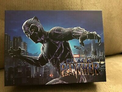 Black Panther Blufans Box (for Movies/Steelbooks) New Mint Gorgeous Rare
