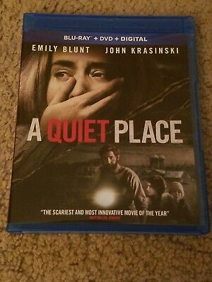 A Quiet Place Blu Ray DVD