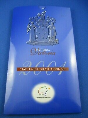 2001 Centenary of Federation Victoria - State Uncirculated Coin Set