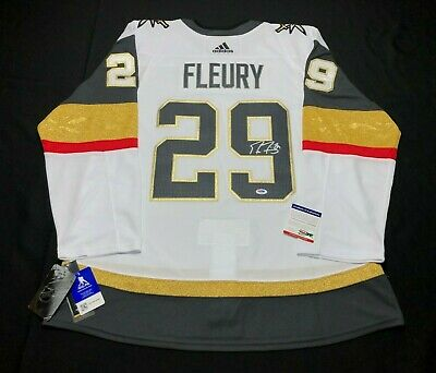 save off 26158 13233 MARC-ANDRE FLEURY SIGNED Authentic Vegas Golden Knights Jersey PSA AF25523