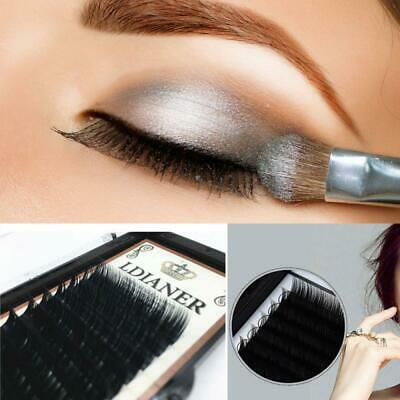 tool 100% real mink False Eyelashes Eye lash Extensions Curl C For 8/10/12/14mm