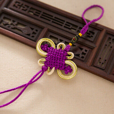 Chinese Mystic Knot Wealth Lucky Charm Feng Shui Ornaments Festive Gift Souvenir