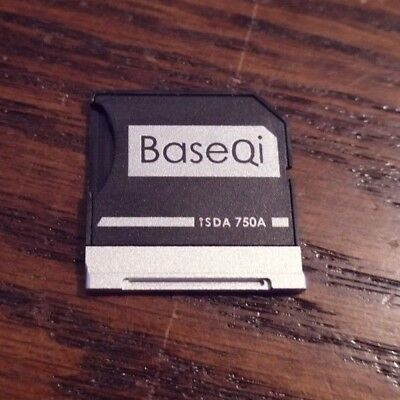 "BaseQi Aluminum microSD Adapter for Dell XPS 15"" Model 9550"