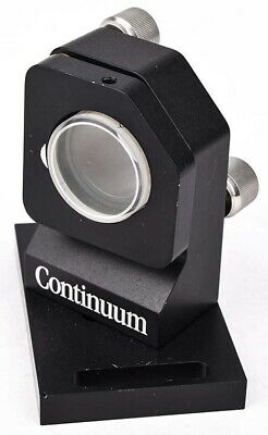 "Continuum Industrial Lab Laser Optic Angled Kinematic 3-Screw 1.25"" Mirror Mount"