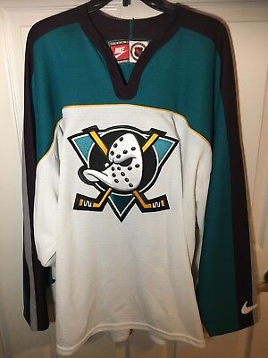 new style eff73 221ca ANAHEIM MIGHTY DUCKS Vintage Nike NHL Jersey Alternate 97-99