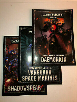 Warhammer 40000 40k Shadowspear Campaign Rules and Both Codex 31819 A
