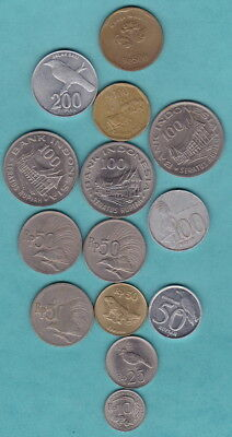 INDONESIA - BULK COINS LOT- nice mix of emblems/dates for Collectors/Travellers*