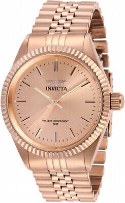 Invicta Men's Specialty Quartz Rose Gold Tone Stainless Steel Watch 29394