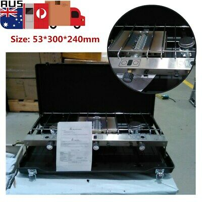Portable Tabletop BBQ Gas Stove Grill Cooker -- Used product AU Stock