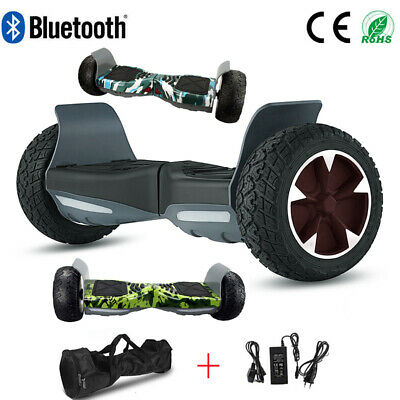 """Hoverboard 8.5"""" All-Terrain Electric Scooters Off-road Balance Board Bluetooth"""