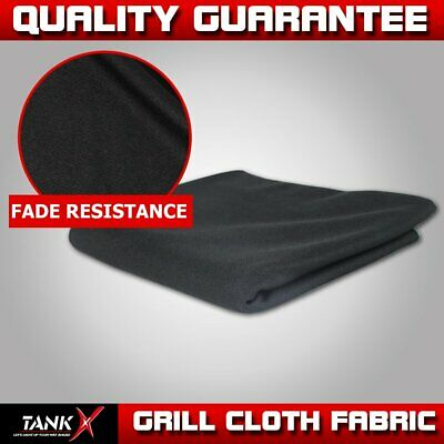 """54""""Width Speaker Grill Cloth Fabric Grille Cloth Dust-proof and Washable (Black)"""