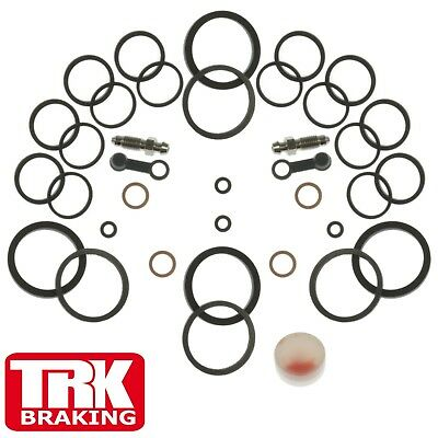 Brake Seals Front Twin Caliper Repair Kit  Kawasaki ZX7-R ZX 750 P3 1998