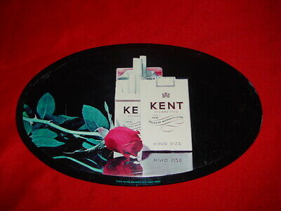 belle plaque ovale metal cigarettes kent