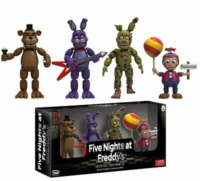 Five Nights at Freddy's Action Figures 4-Pack Set