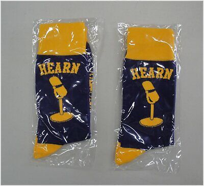 12cb293d7a0 Chick Hearn Stadium Give Away Los Angeles Lakers Socks - 2 Factory Sealed  Pairs