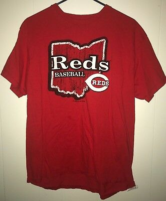 T-Shirt Large Cincinnati Reds Baseball Ohio