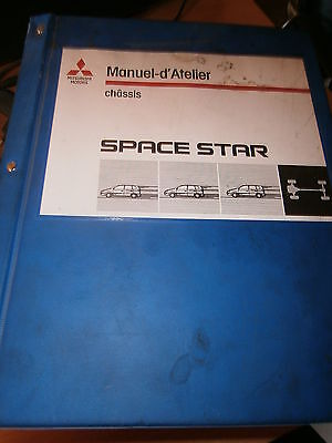 Mitsubishi SPACE STAR 1999 : MANUEL D'ATELIER