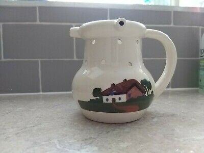 Dartmouth Pottery Puzzle Jug with Motto