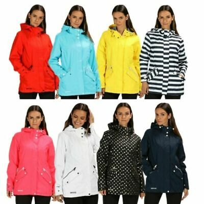 Regatta Womens Basilia Waterproof Breathable Isotex 5000 Jacket Rww316