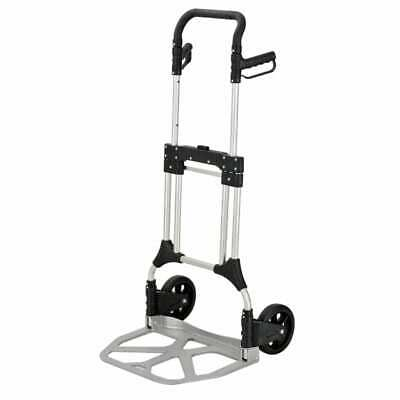 Foldable aluminium professional hand truck transport truck to fold up 200 kg