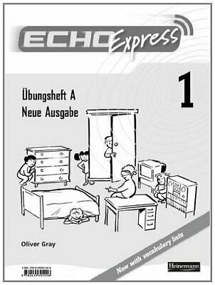 Echo Express 1 Workbook A, 8 Pack New Edition (Echo for Key Stage 3 German)..