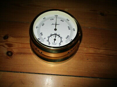Älteres Thermometer mit Hygrometer Jerger Made in Germany guter Zustand