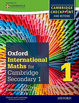 Complete Mathematics for Cambridge Secondary 1 , Barton..