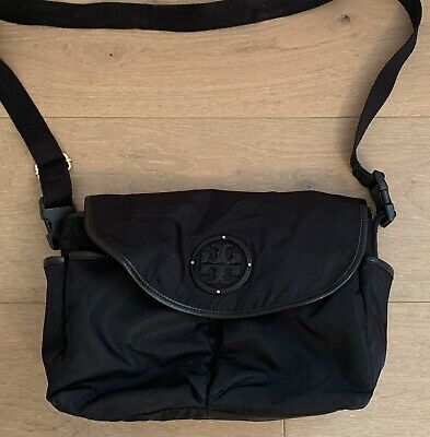 d16f81985905 NWT TORY BURCH Nylon Messenger Baby Diaper bag