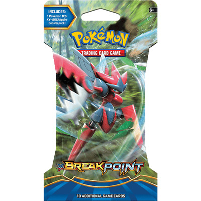 POKEMON TCG XY BREAKpoint Blister Booster Pack Pokemon Trading Card Game
