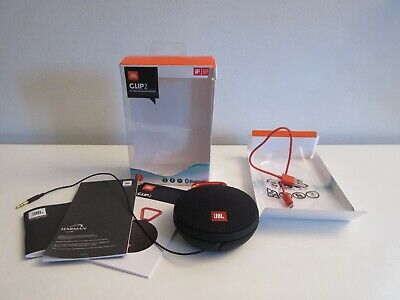 JBL CLIP2 Ultra Portable Wireless Bluetooth Speaker Black