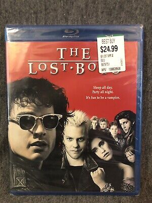 The Lost Boys (Blu-ray Disc, 1987, Widescreen) Brand New Kiefer Sutherland