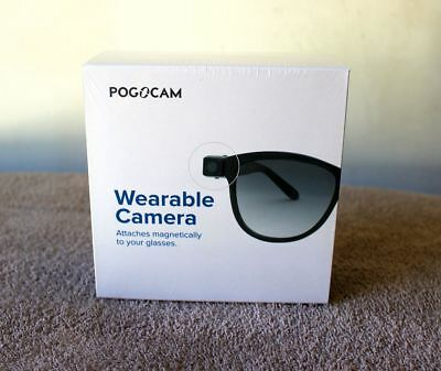 PogoTec PogoCam Tiny Removable Photo & HD Video Camera For Your Glasses - NEW!!