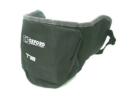 Oxford Visorstash T2 Deluxe Visor Carrier C/w Pocket Motorcycle Motorbike EL302