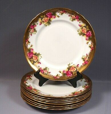 Royal Chelsea GOLDEN ROSE Dinner plate Bone China England