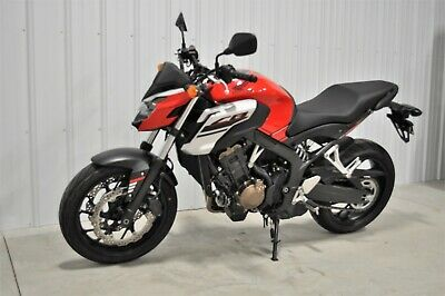 2018 Honda CB  2018 Honda CB650F CB650 F Well Maintained Excellent Condition 857 Miles