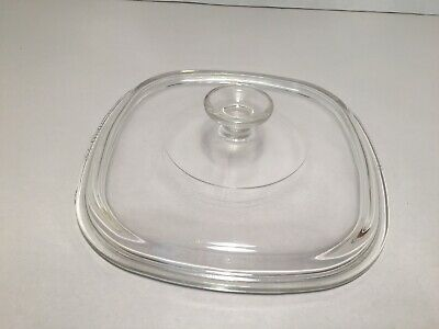 Pyrex Glass Replacement Lid (Only) A-9-C for 2 and 2.5 Qt Corning Ware Dishes
